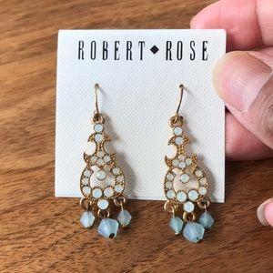 NWT Robert Rose drop earrings